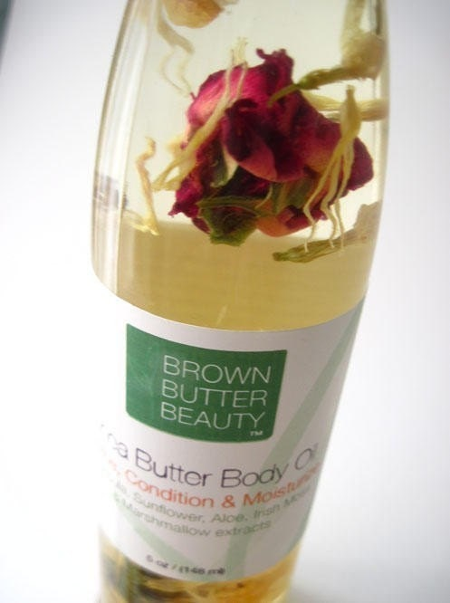 Shea Butter Body Oil - Soothe Condition and Moisturize dry skin