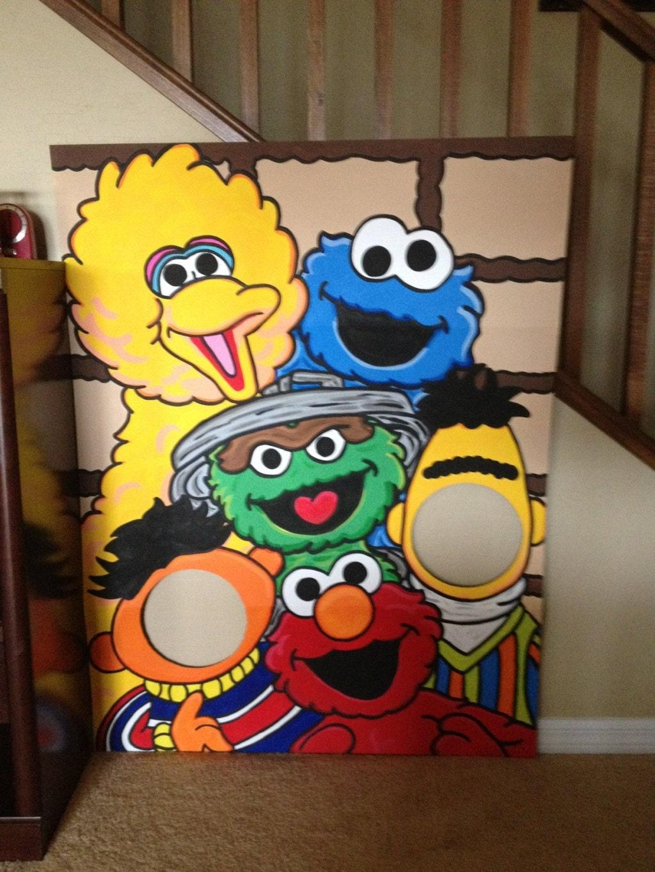 Sesame Street Characters Faces Bert Lets be bert and ernie sesame