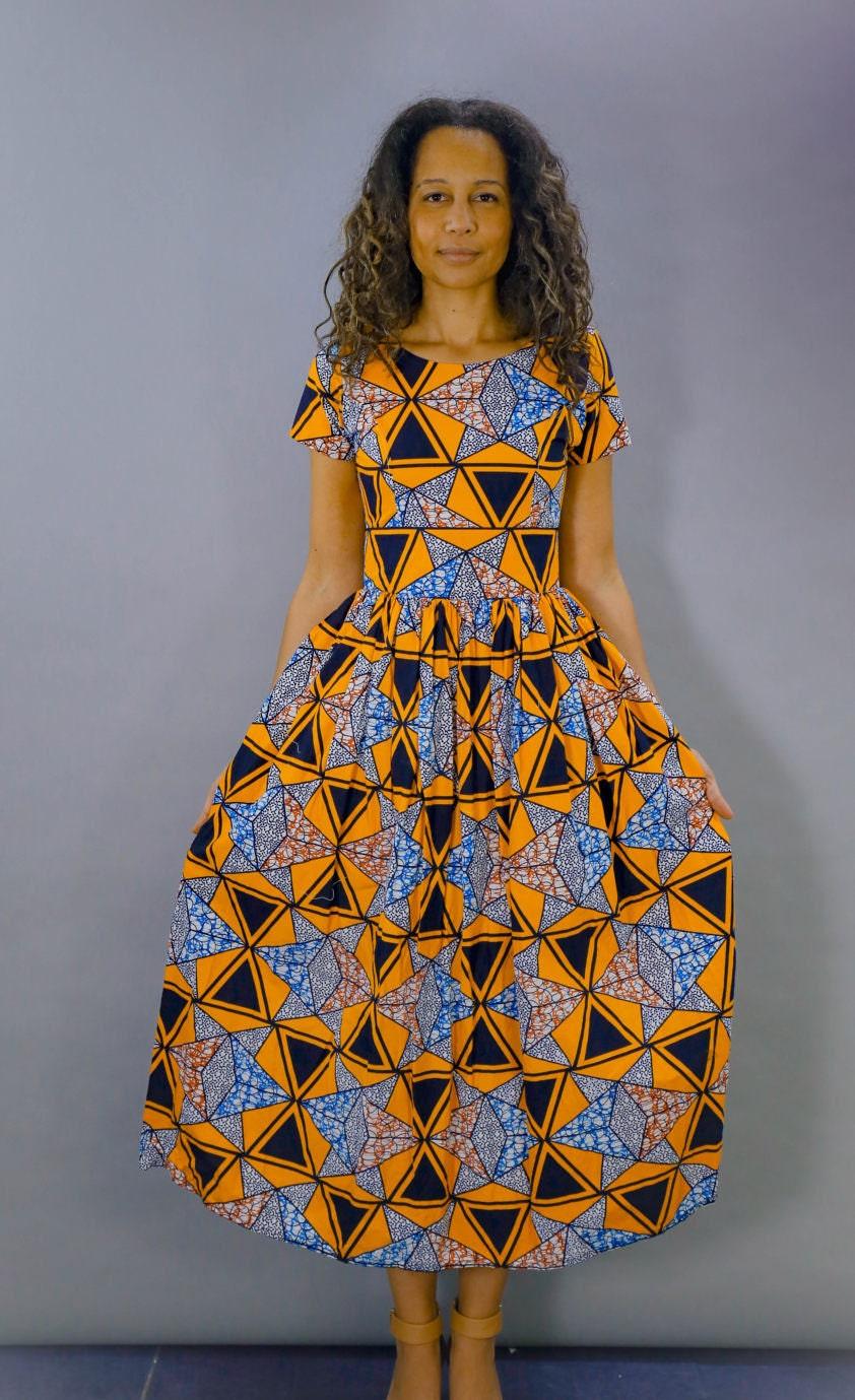 Pembetatu African Maxi Dress