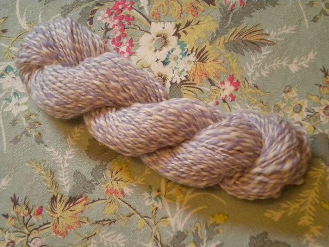 Lilac Handspun Yarn - 3.8oz