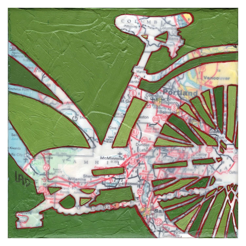 Bike Portland Archival Print