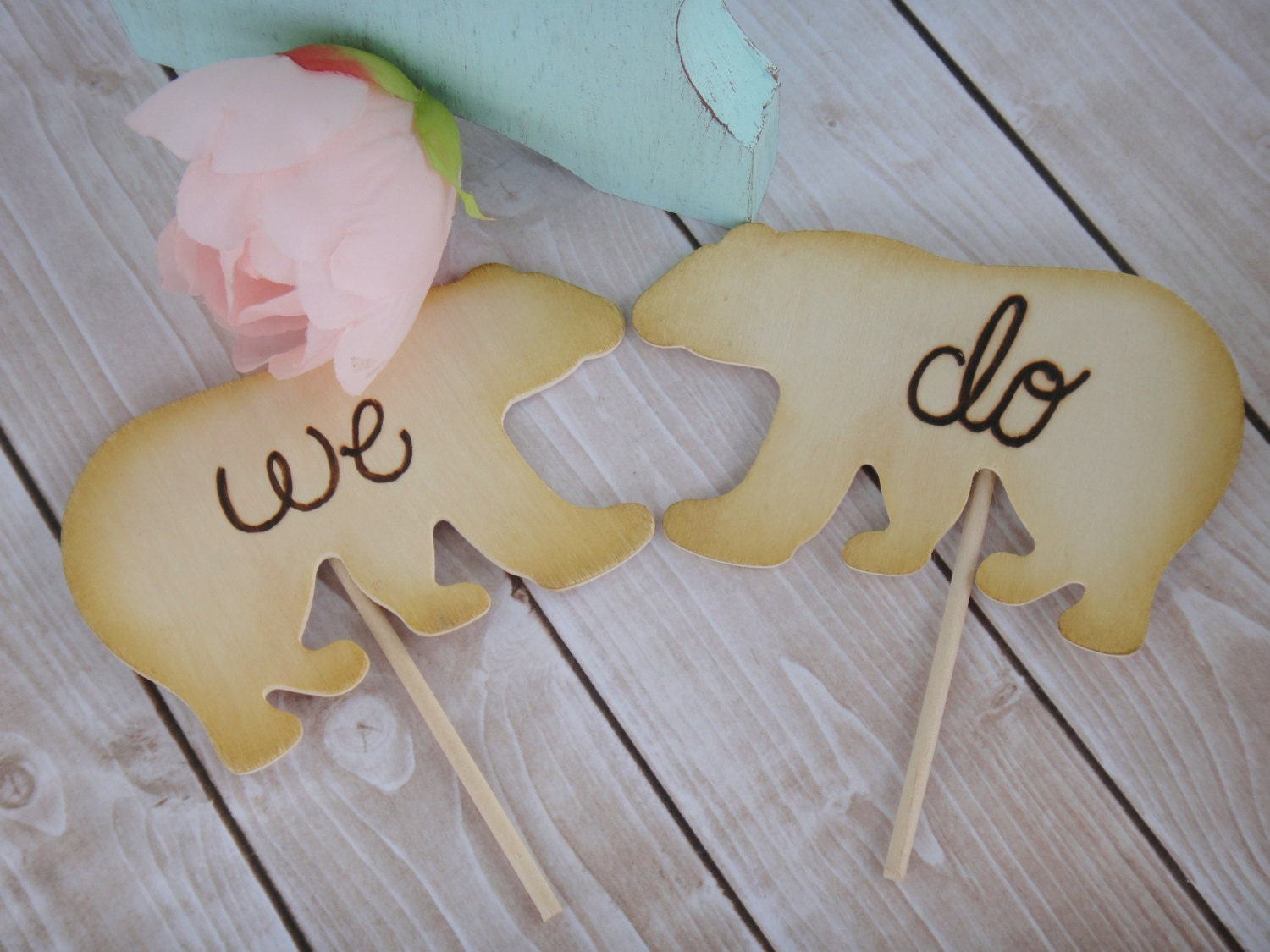 Woodland Bear Cake Topper