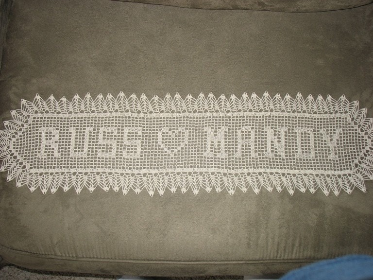 Crochet Patterns For Doilies With Names images