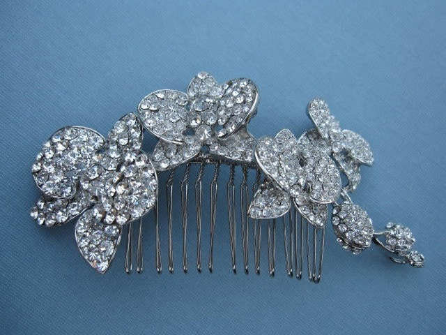 Bridal hair comb---headpiece, hair accessories