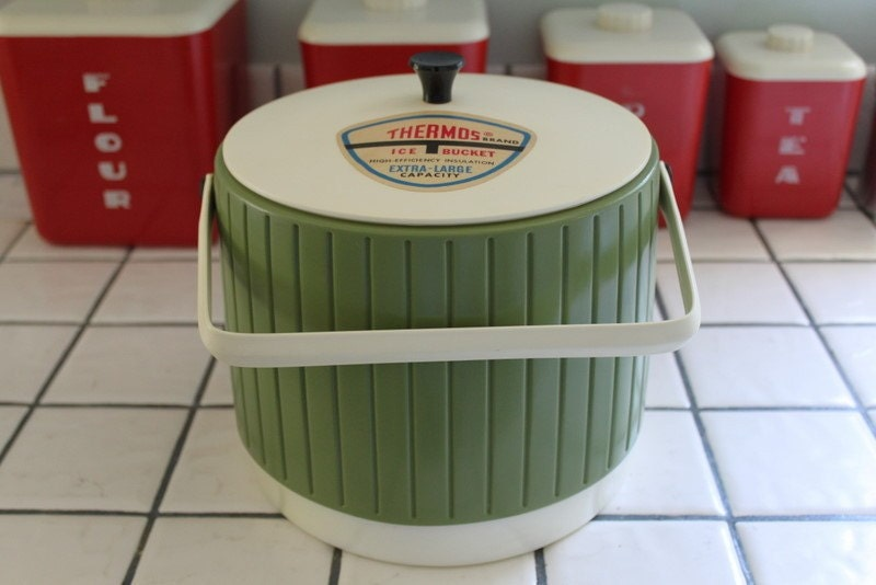 Vintage Thermos Ice Bucket