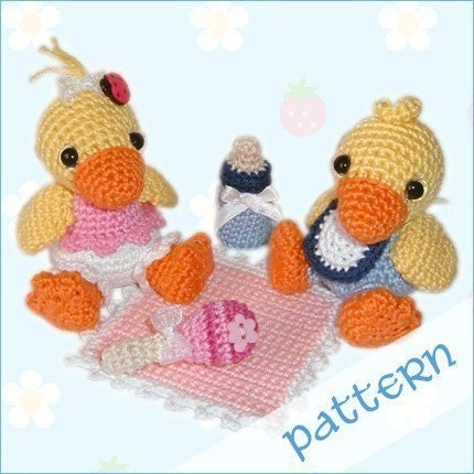 PDF Pattern - Baby Ducklings