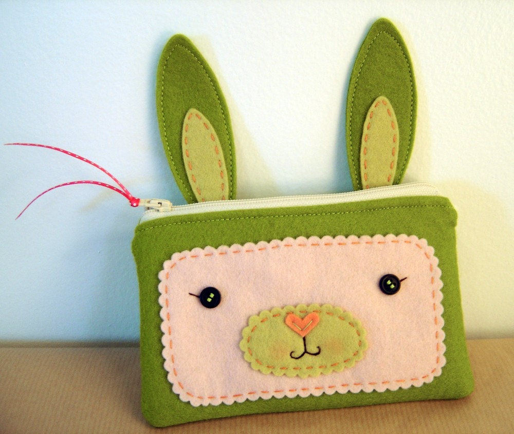 Cutest bunny pouches I have *ever* seen!