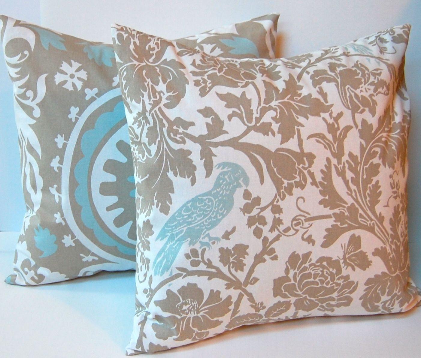 Euro Sham Decorative Throw Pillow Covers 24 x by FestiveHomeDecor