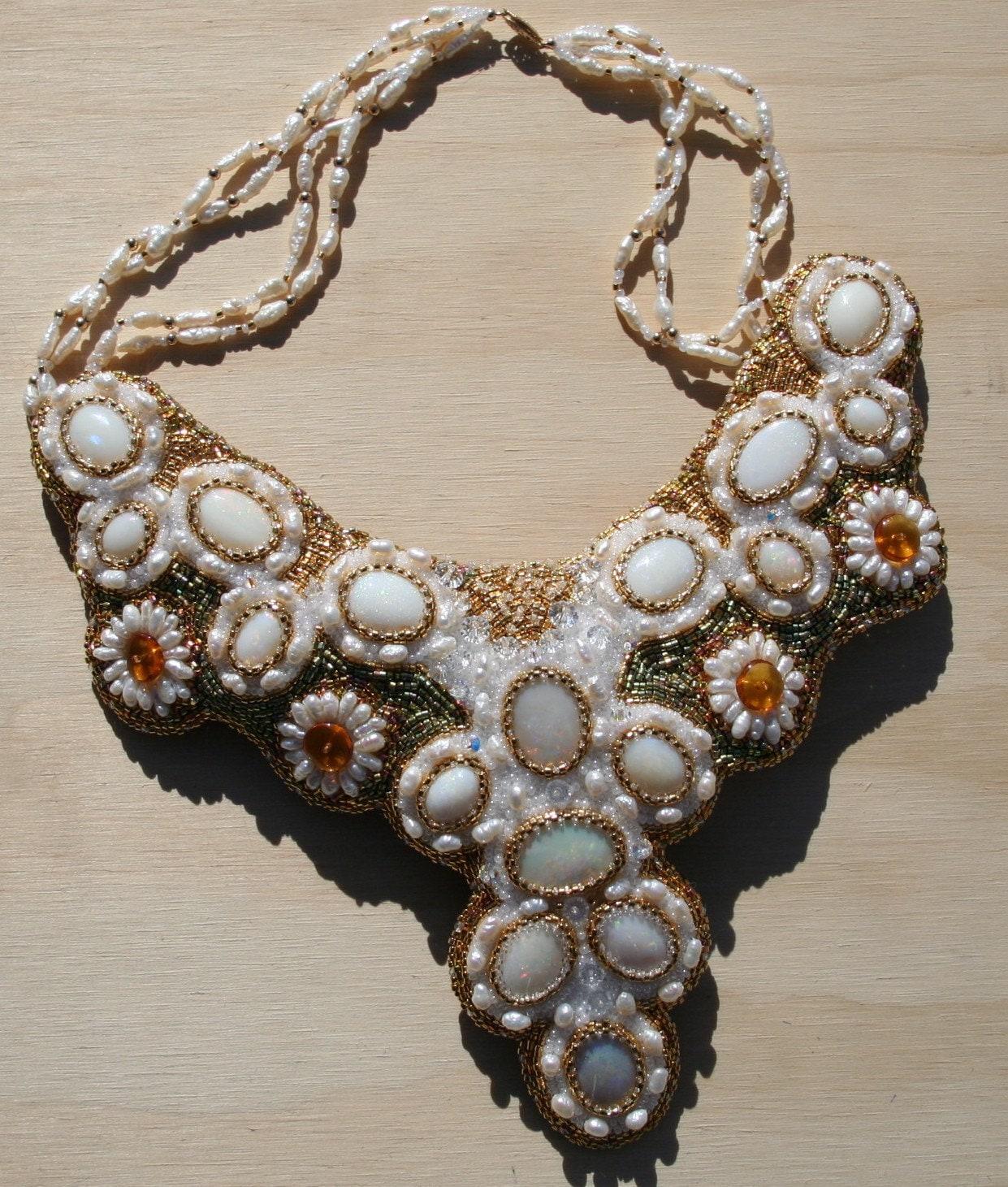 The Tsarina's Opal Collar Necklace