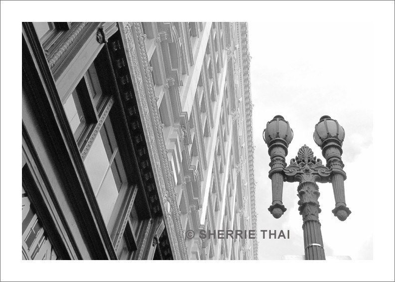 SF Downtown Photo Print