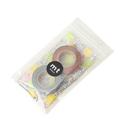 Masking Tape - Petit Ribbon Pattern  set (15mm)