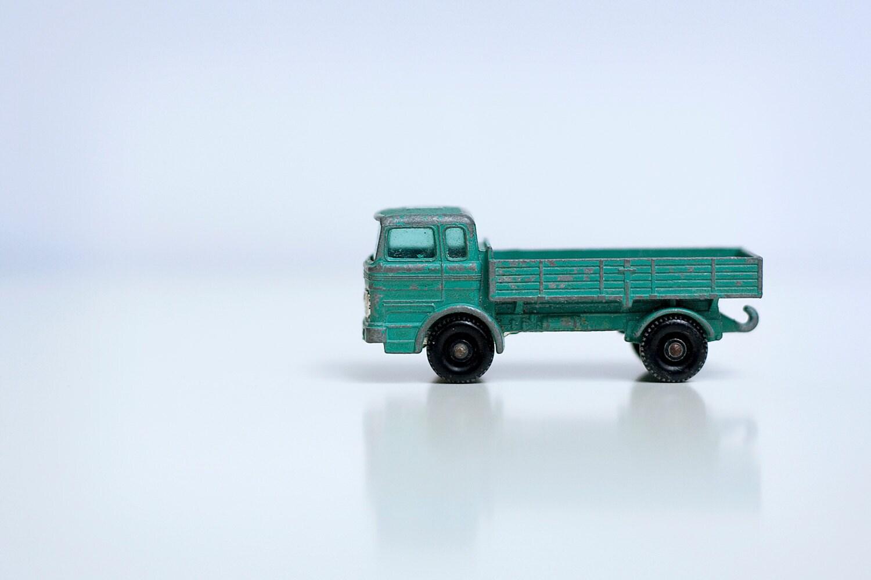 Vintage 1960's Matchbox Lesney Mercedes Diecast Truck, Matchbox Series No. 1 - LuLuVintageFinds