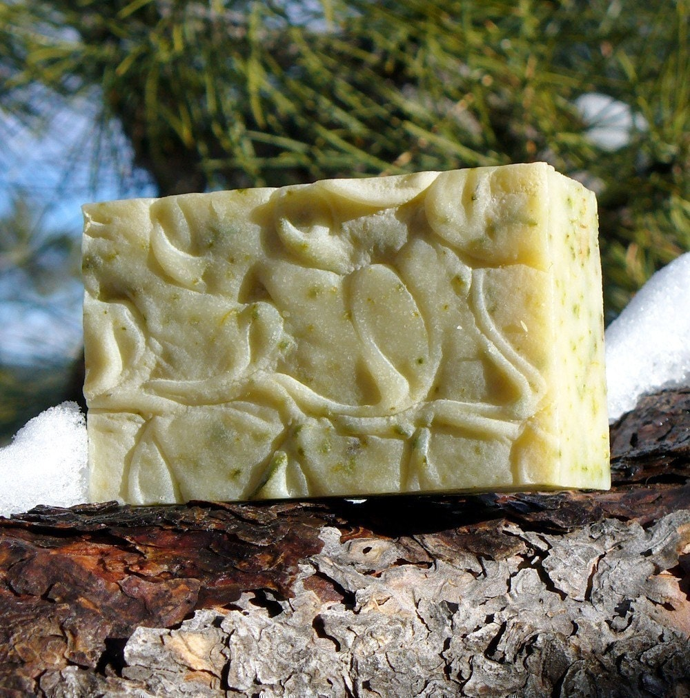 Into the Woods earthy organic essential oil c.p. soap Cedarwood & more smells like a forest after the rain - Free Shipping Offer in shop - deVreeseskincare