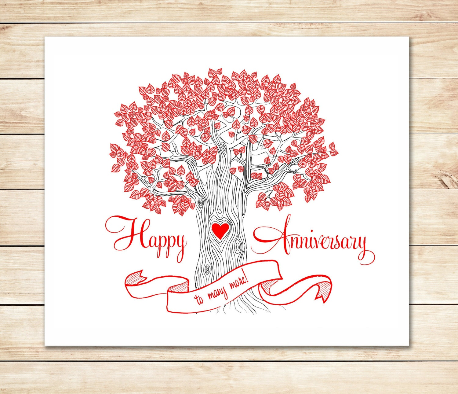 Free Printable Anniversary Cards Create and Print Free - oukas.info