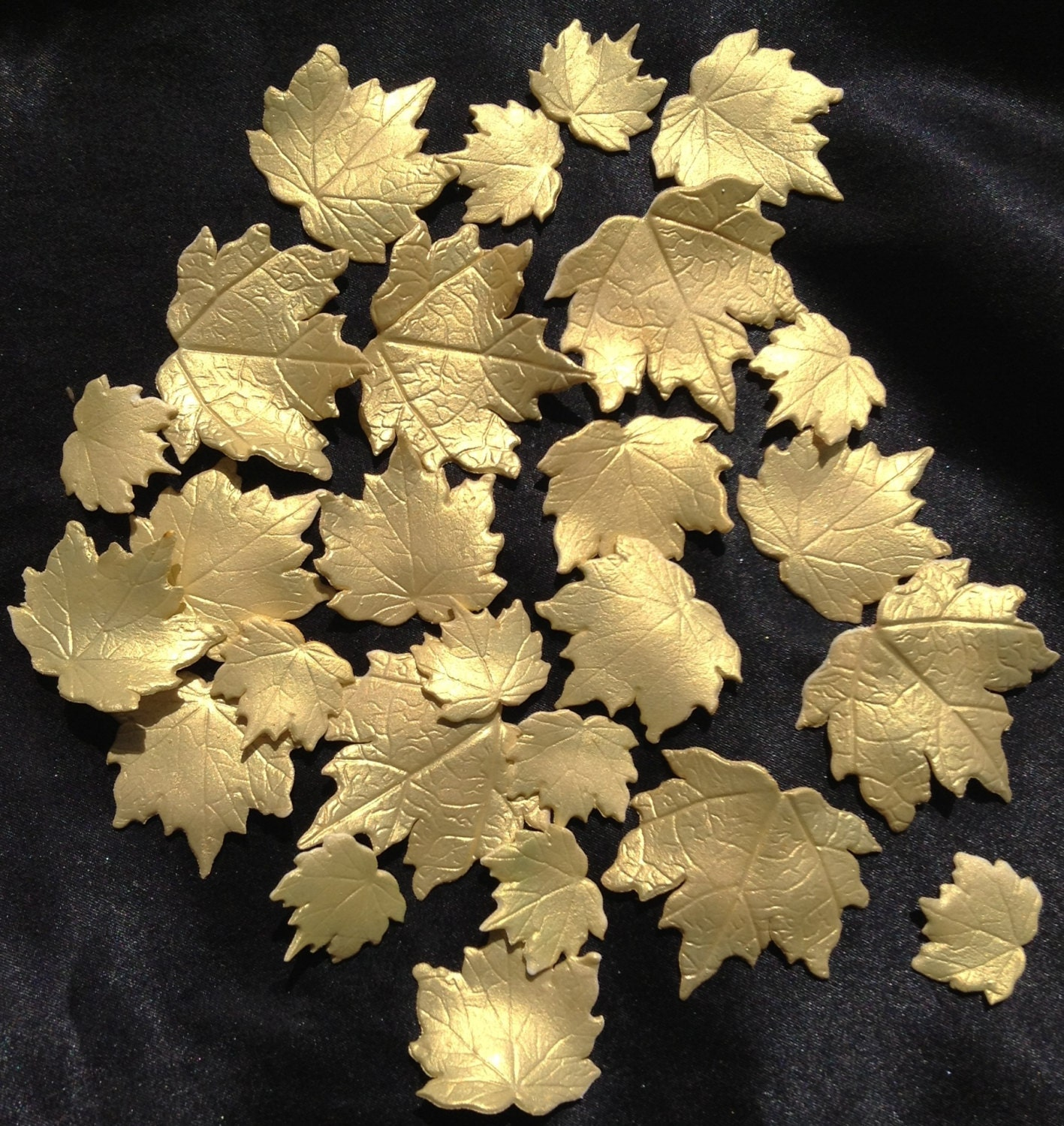 how to make edible gold leaves