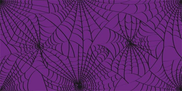 Fat Qtr x SpideryWeb - Purple Decay Fabric (Original Design)