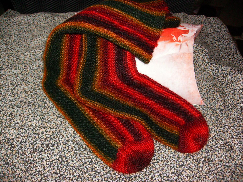 Hand knit womens socks Sizes UK 4 - 5 US 6 - 7