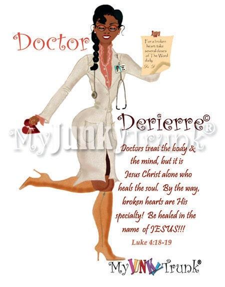 Doctor Derierre- African American Art Print
