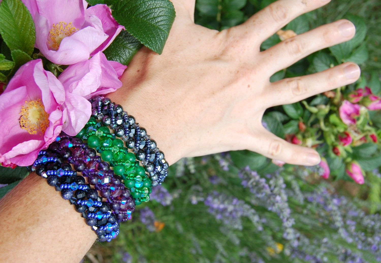 Bracelet perles Amthyste cristal violet riche, semi precieux, sorcire gothique, bijoux Reine des elfes, fantaisie