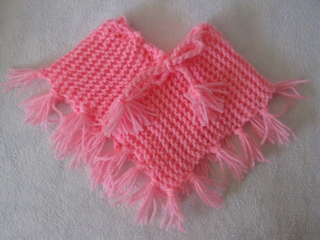 Knitting Pattern Doll Poncho : Easy Poncho PATTERN to knit for American Girl doll in by ...