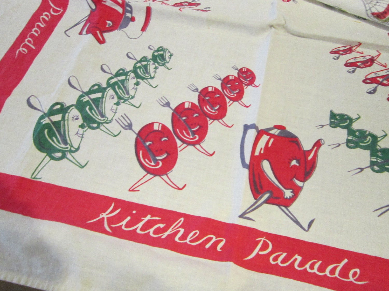 2 Antique Dish Towels Startex Kitchen Towels By Theartfloozy