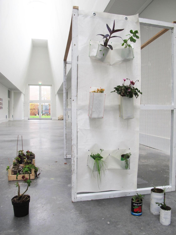 vertical garden curtain - LesPapillonsdeNuit