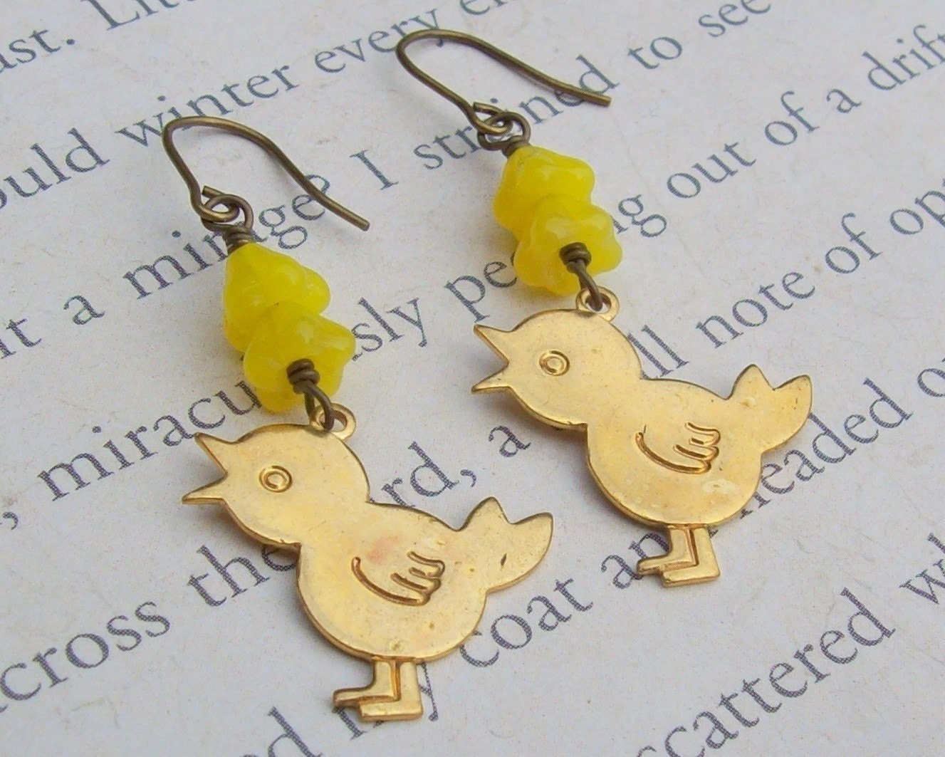 Little Chick Earrings