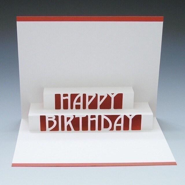 Happy Birthday Pop-Up Card Make