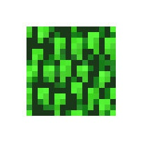 minecraft how to make leaf blocks