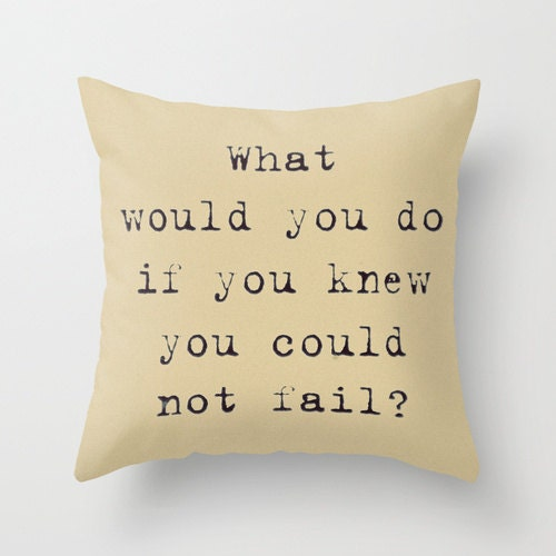 Pillow Cover, Inspirational Photo Pillow, Typography, Pillow, Bedroom, Living Room, Motivational, Home Decor, Khaki 16x16, 18x18, 20x20