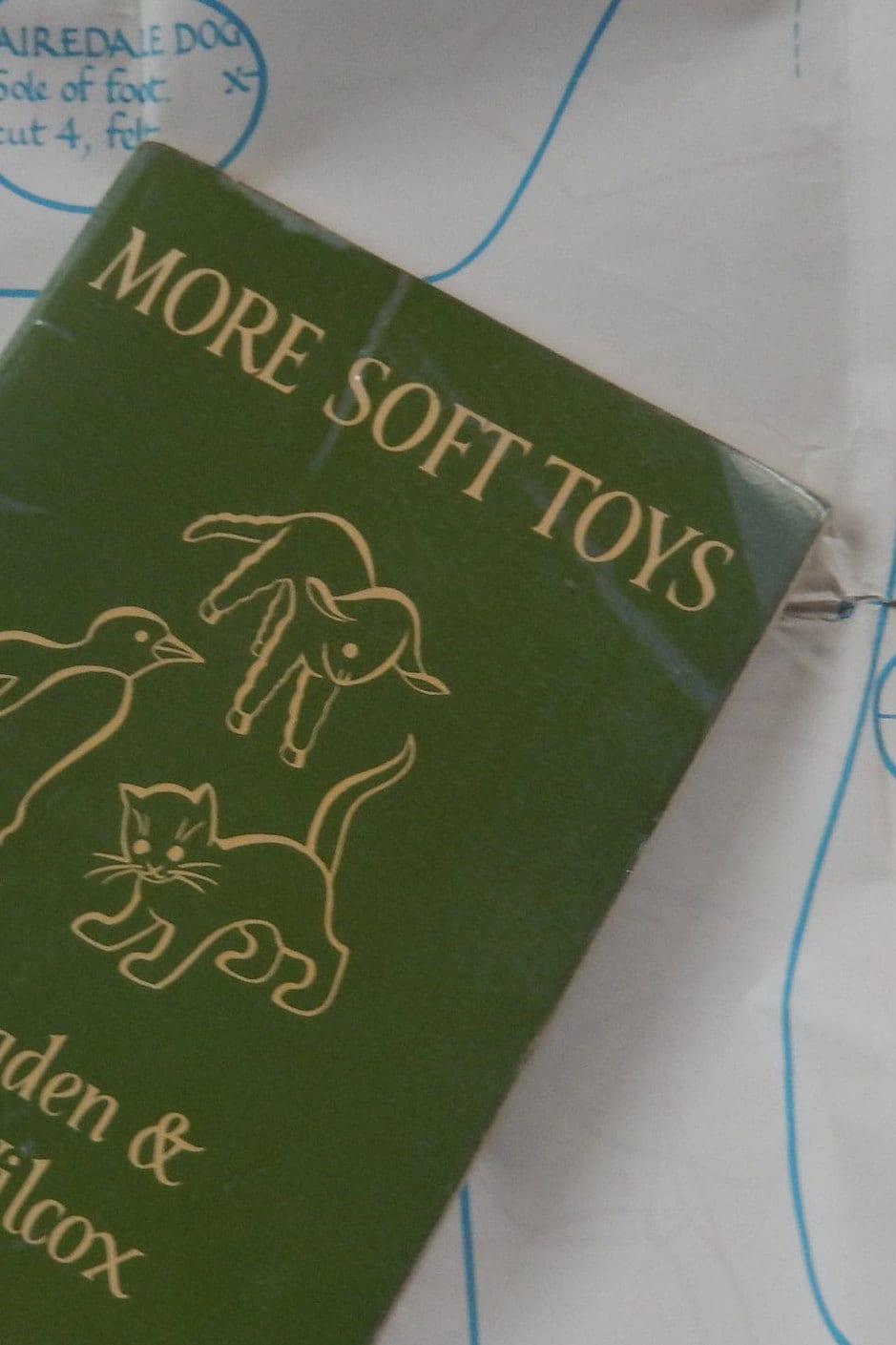 Dryad Felt Toys Craft Book, More Soft Toys by Joy Ogden Mary Wilcox, 1965 Ed. Handmade Felt Toys, How to Make Felt Toys,