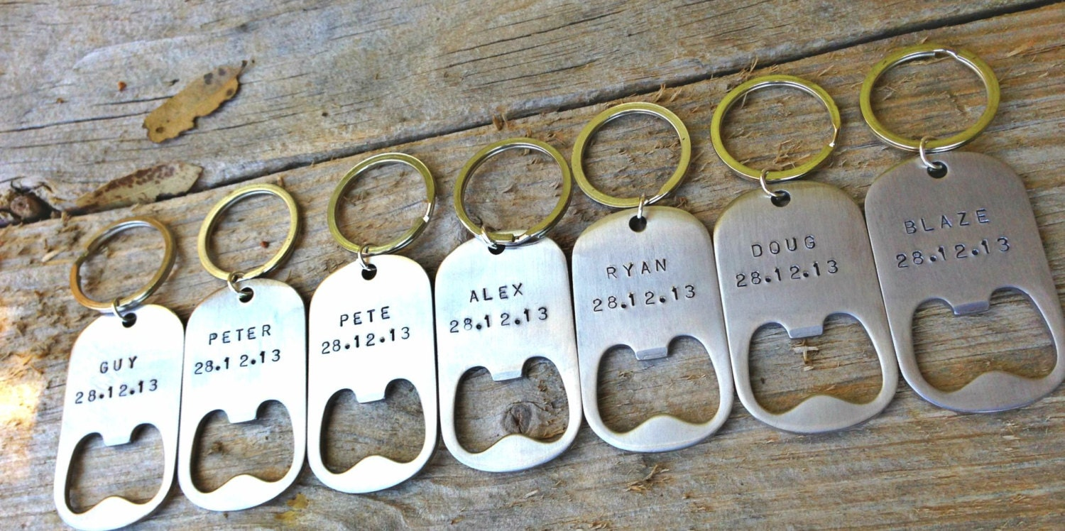 Groomsmen Gifts For The Groomsmen Personalized Key By