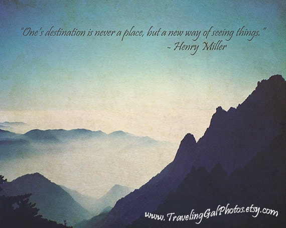 inspirational art print quotes travel by travelinggalphotos