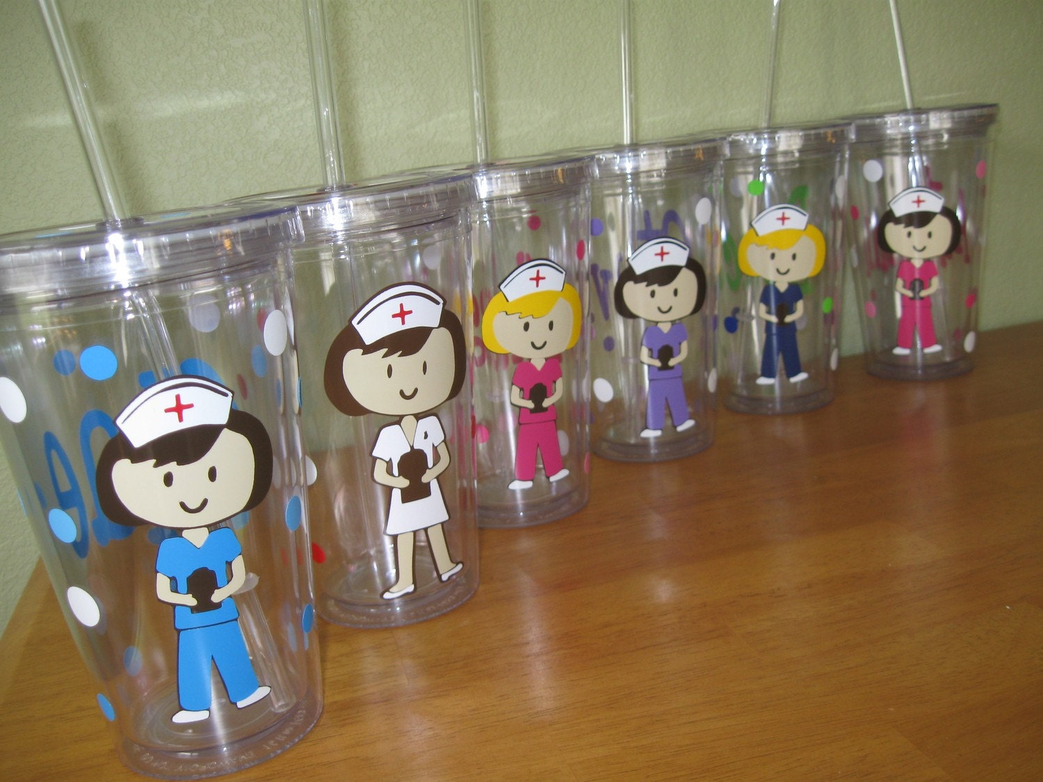 Personalized With Name Acrylic Tumbler Or Water By Deladesign