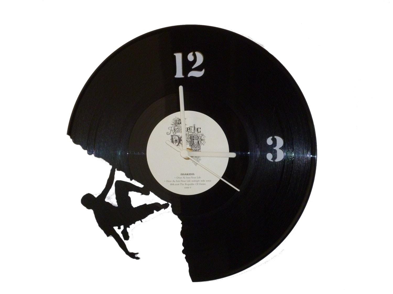 Horloge vinyle Escalade