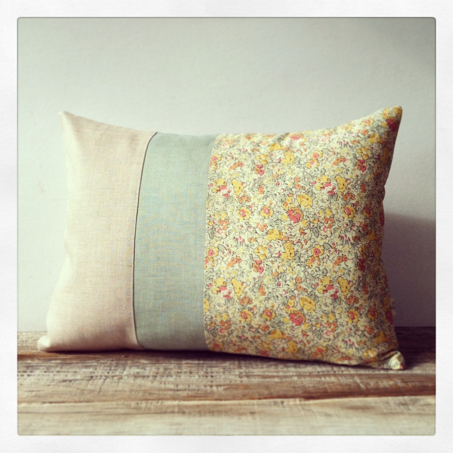 LIMITED EDITION: Floral Liberty Print Decorative Pillow by JillianReneDecor ? Shabby Chic Home ...