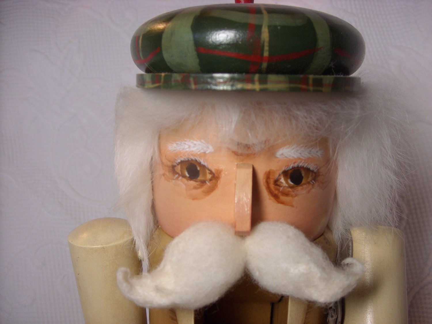 Collectible Hand painted Wood Golfer Nutcracker