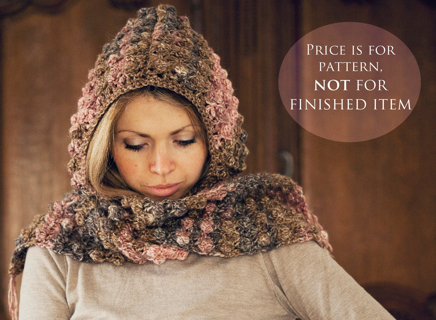 Crochet Pattern For Baby Hat And Scarf : Instant download Hat and scarf Crochet PATTERN by ...