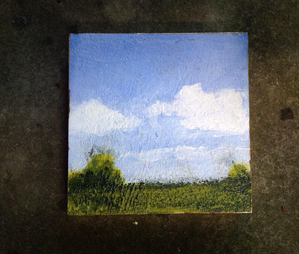 "landscape 4"" square - roseymorris"