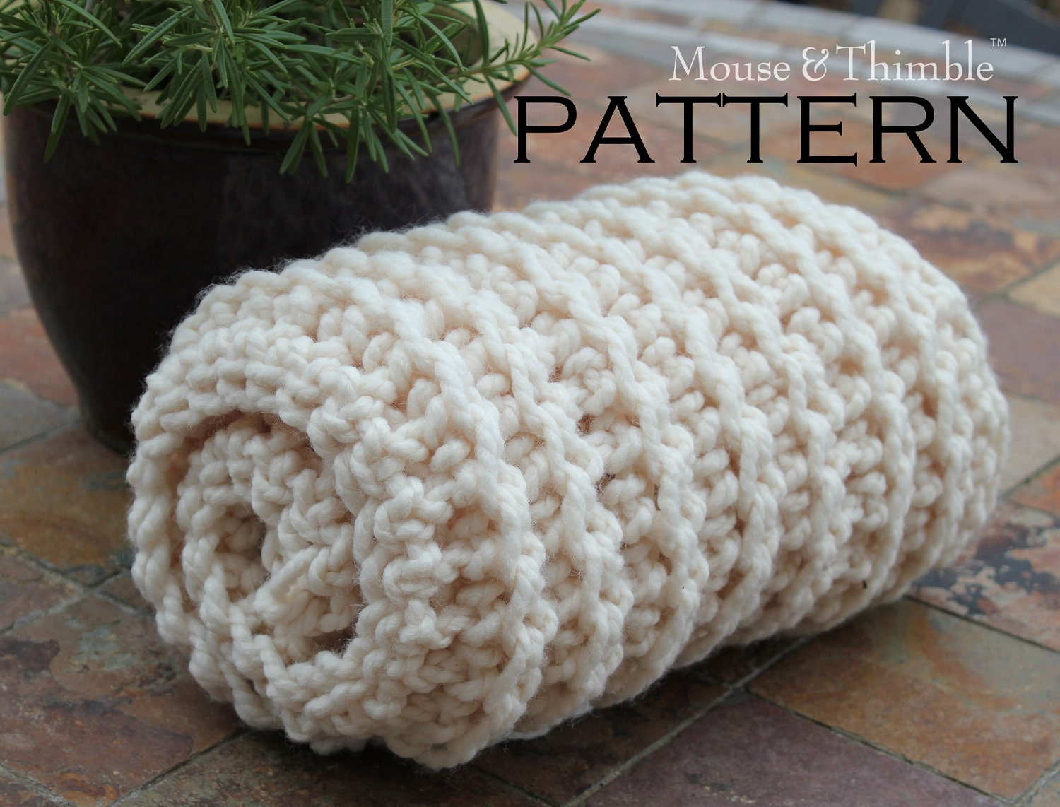 Crochet Baby Blanket Pattern Chunky Yarn ~ Pakbit for .