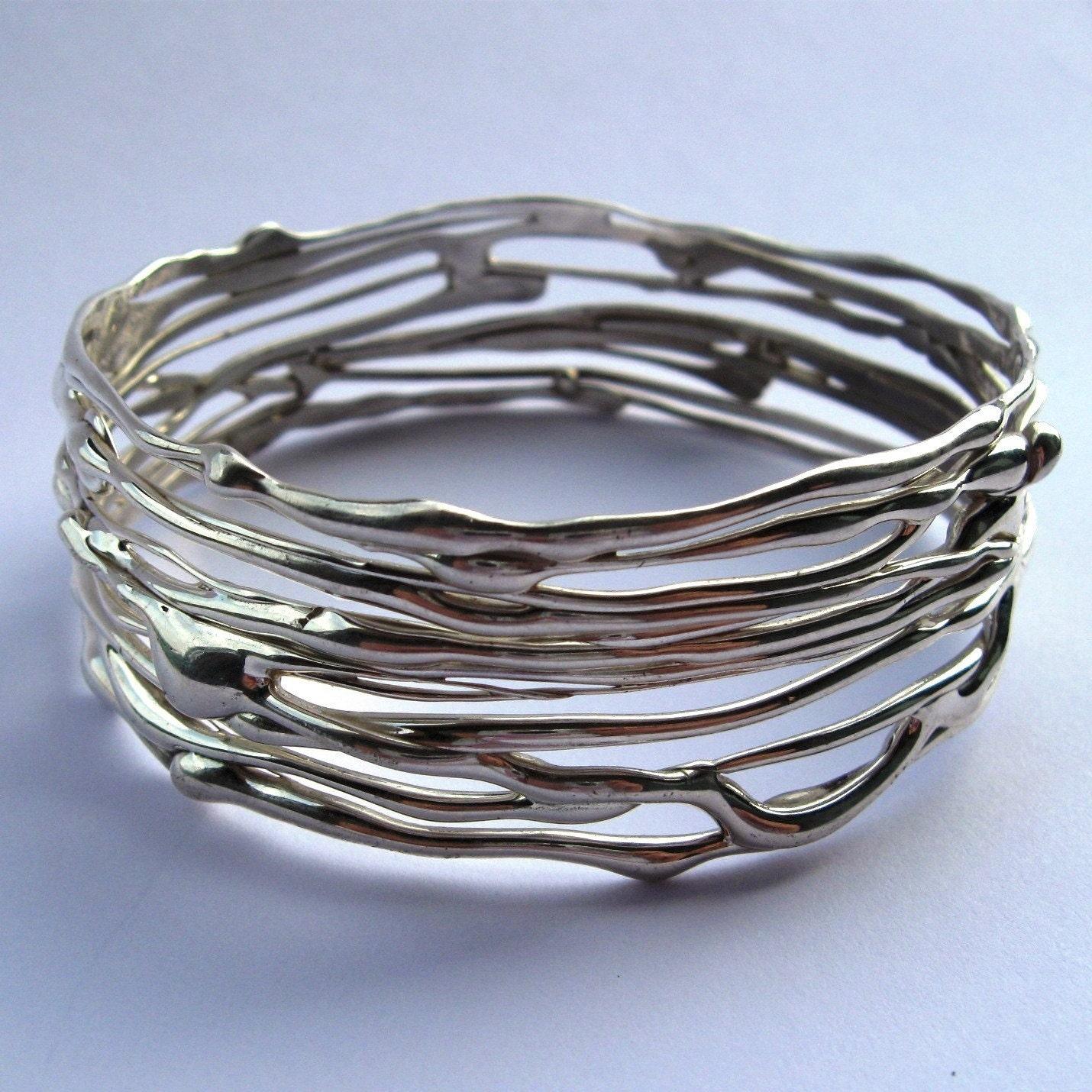 Sterling Silver Bangle Bracelet.