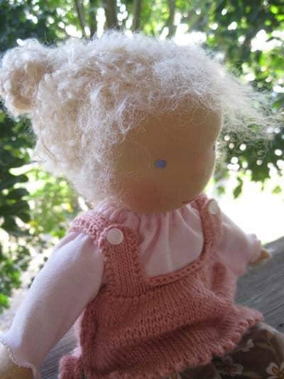 Meet Jenny Waldorf style doll