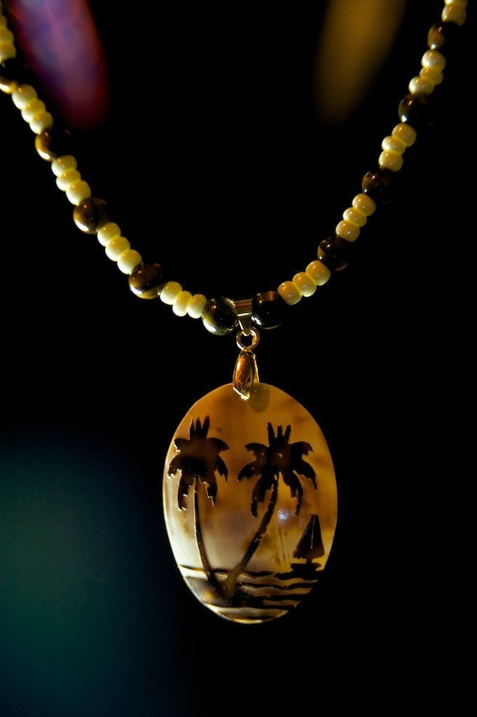 LAST ONE,  Paradise Beach Necklace
