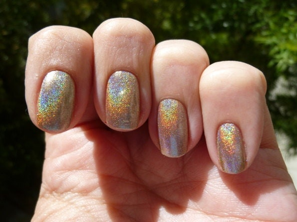 Shampayne Holographic Nail Polish - mini bottle
