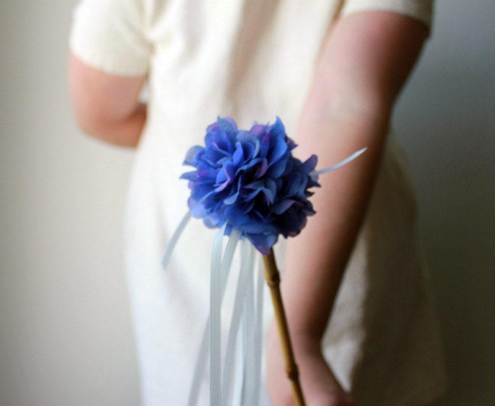 Цветочный Wand девушка