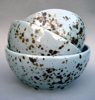 Robins Egg Nesting Bowls-Set of Three