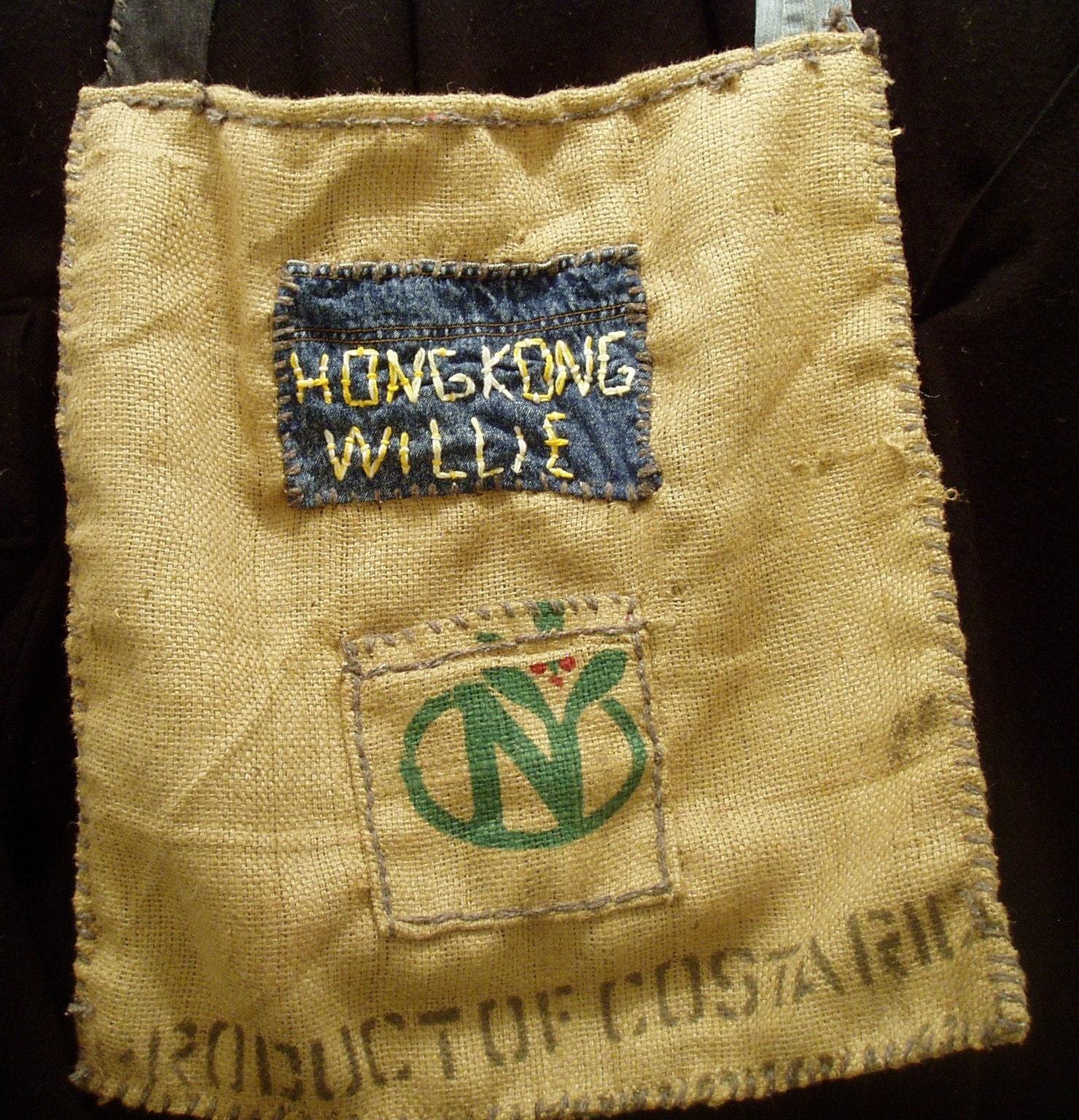 Hippie Bag Hong Kong Willie Green Bag