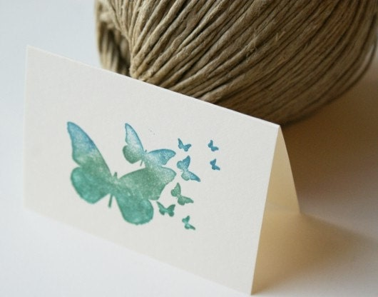 Flutter Place Cards - Small Note Cards Set of 12