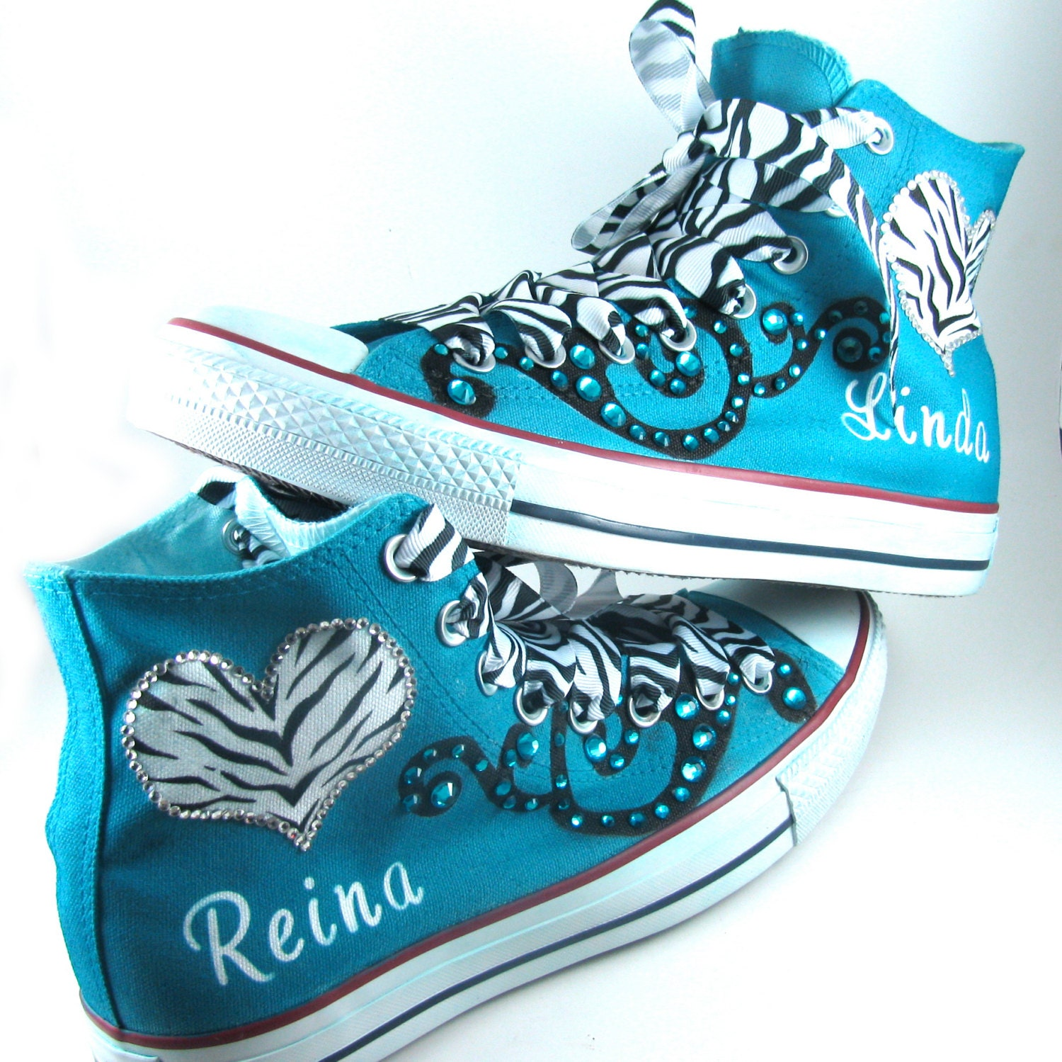 7f45e1e02722 Custom Airbrushed Converse Sneakers - Cartoons Logos Icons Quinceanera  Shoes Converse
