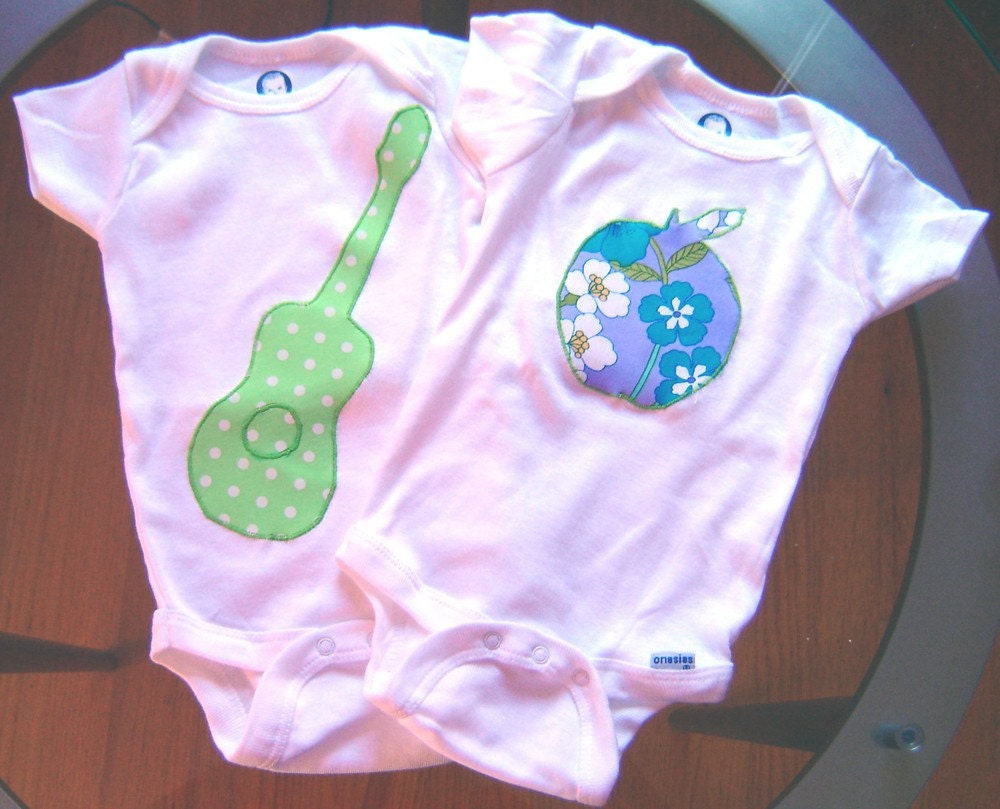 Rock and roll onesie set